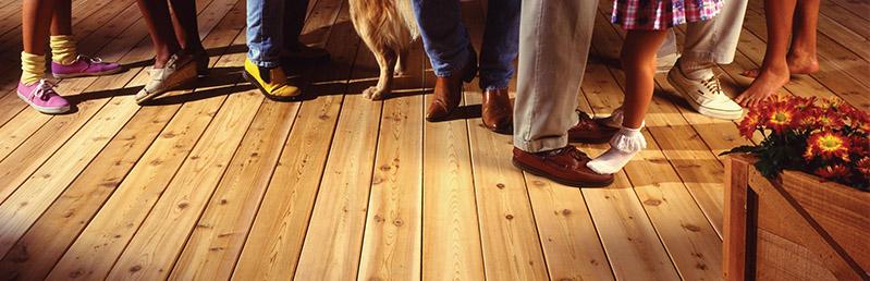 Decking timberline enterprises for Cedar decks pros and cons