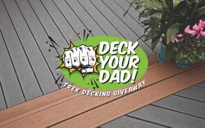 "Thanks for Making ""Deck Your Dad"" a Big Success!"