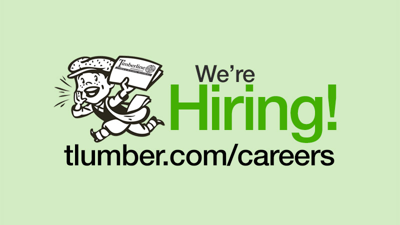 Timberline is Hiring!